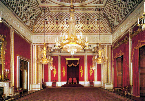 gallery for inside buckingham palace ballroom